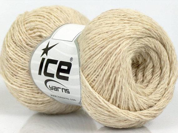 Knitting yarn, Destash yarn, beige yarn, Sport, Baby weight, Y152 by BernioliesDesigns