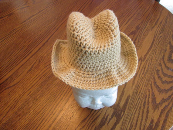 Cowboy Hat, Photography Prop by Crochetandmore
