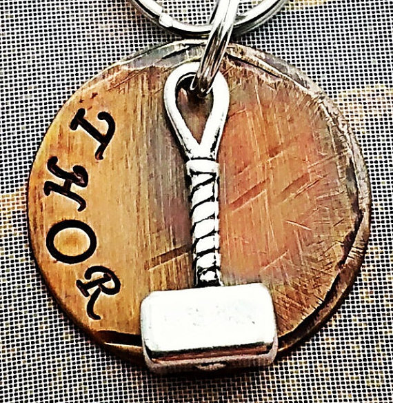 Dog Tag, Pet ID Tag, Pet Tag, Pet Tags, Engraved Pet Tag, Dog, Collar Tag, Metal Pet Tag, (Thor 1 & quot;) inspired Marvel Comics by FetchAPassionTags