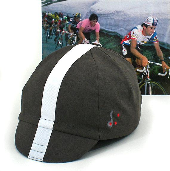 Tempo Bianco Cycling Cap by reddotscycling