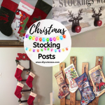 Diy Christmas Stocking Holders Ideas Diy Cuteness