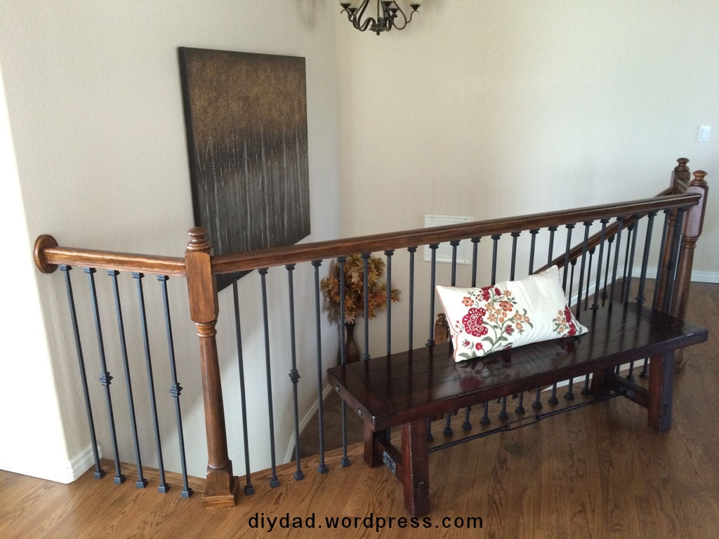 Replacing Wood Balusters With Wrought Iron Sort Of Diy Dad   Replacing Wrought Iron Stair Railing Outdoor   Stair Parts   Vinyl Railing   Stair Spindles   Wood Balusters   Cast Iron Balusters