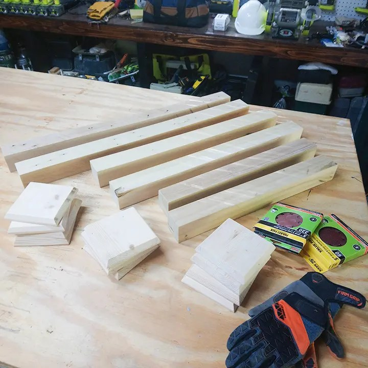 DIY Candlesticks Ready For Assembly