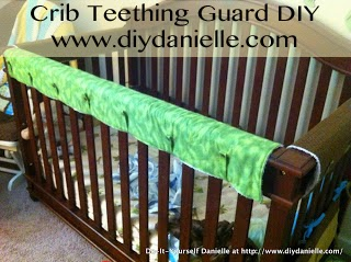 How to make your own teething guard for crib