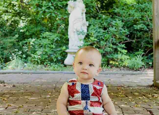 How to Sew an Easy Fourth of July Romper