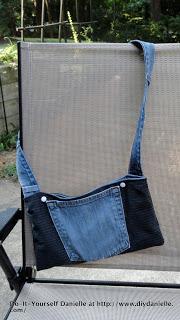 How to make a denim purse.