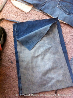 How to Make a Denim Purse from Upcycled Jeans