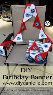 How to make your own birthday banner for a Dr. Seuss party