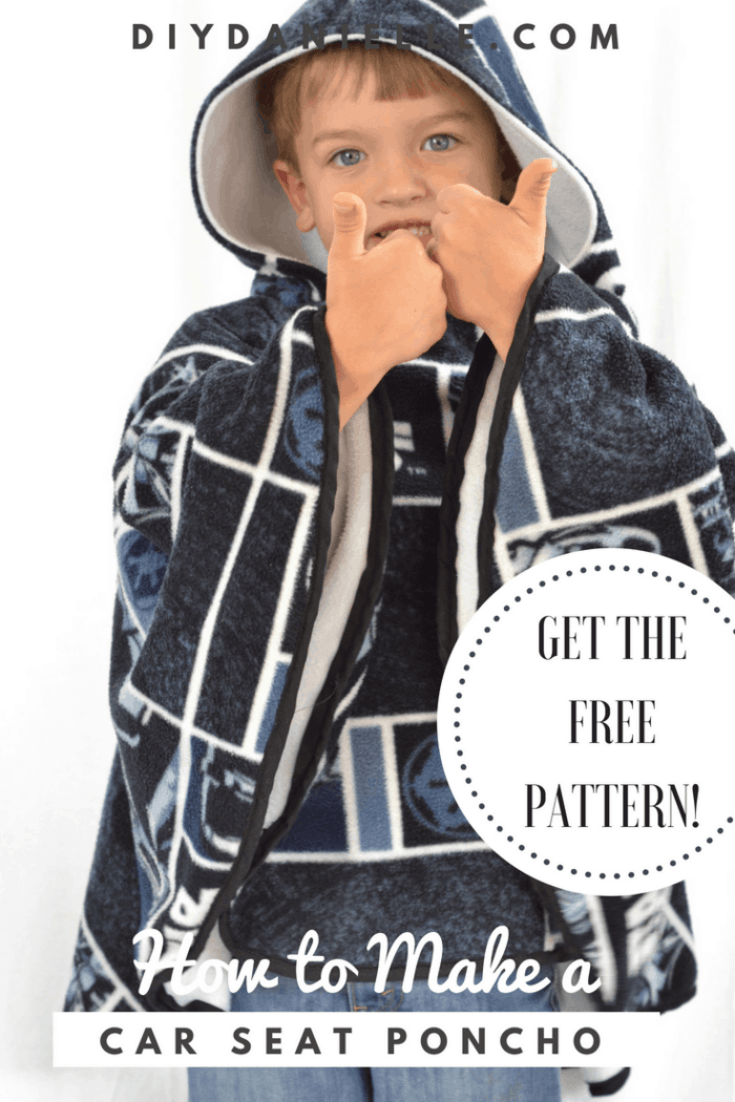 Learn how to sew one of these popular car seat ponchos with an easy video tutorial!