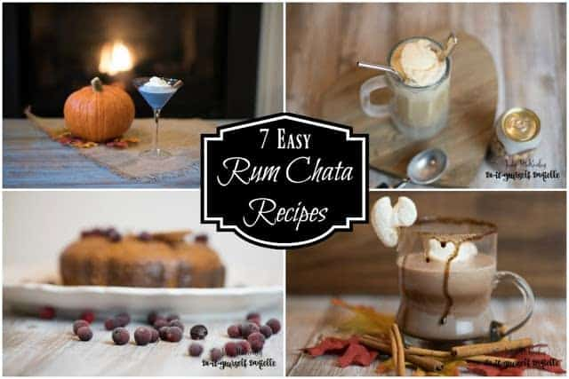 7 Easy Recipes with Rum Chata Liqueur