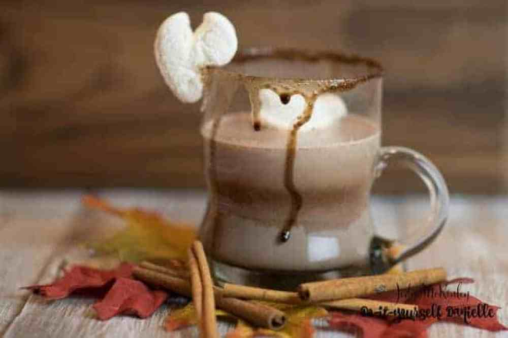 "This Rum Chata Hot Cocoa got an exclamation of ""WOW!"" from a friend. And it's super easy."