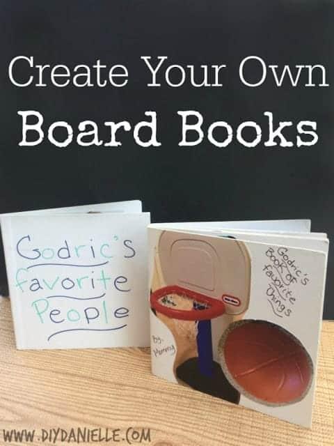 favorite things board book diy danielle