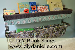How to make your own book slings for nursery