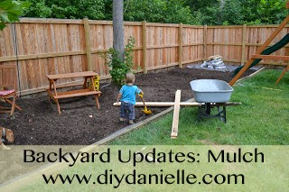 How to add mulch to your backyard
