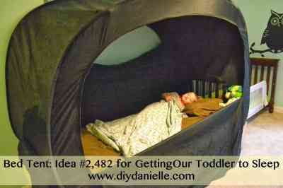 How to get a toddler to sleep in their own bed