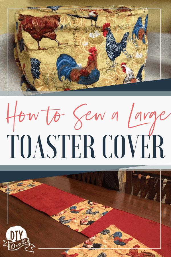 How to sew a toaster cover and matching items for the kitchen.