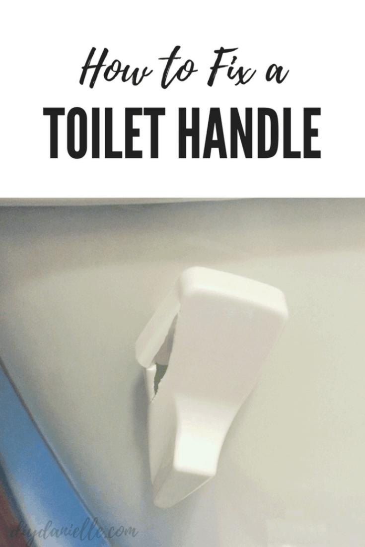 How to Fix a Broken Toilet Handle
