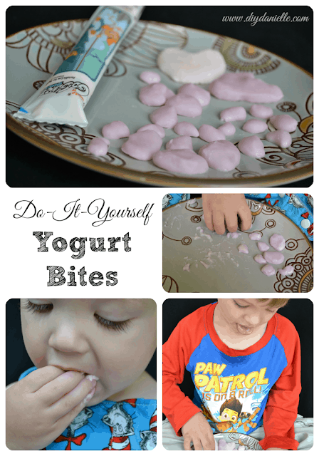 How to Make Yogurt Bites as a Baby Finger Food