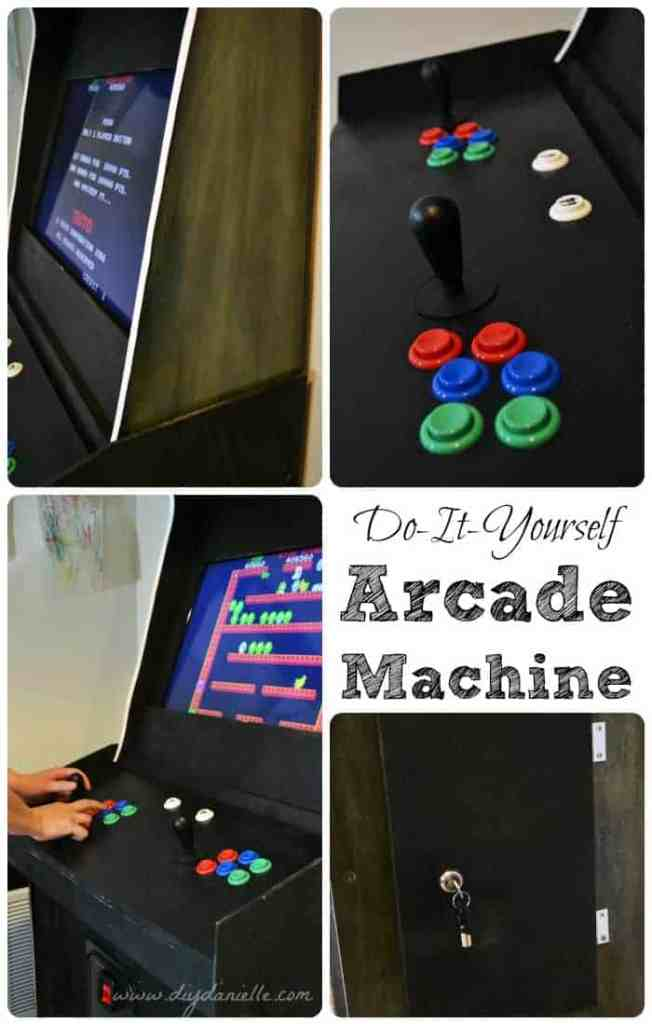How to build a custom arcade machine diy danielle this is a tutorial on how to build your own arcade machine this will cover how my husband built our mame cabinet and the supplies needed solutioingenieria Choice Image