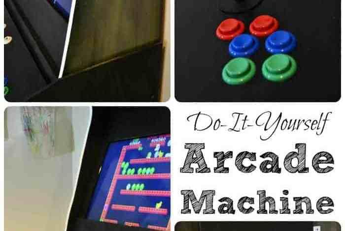 How to Build a Custom Arcade Machine