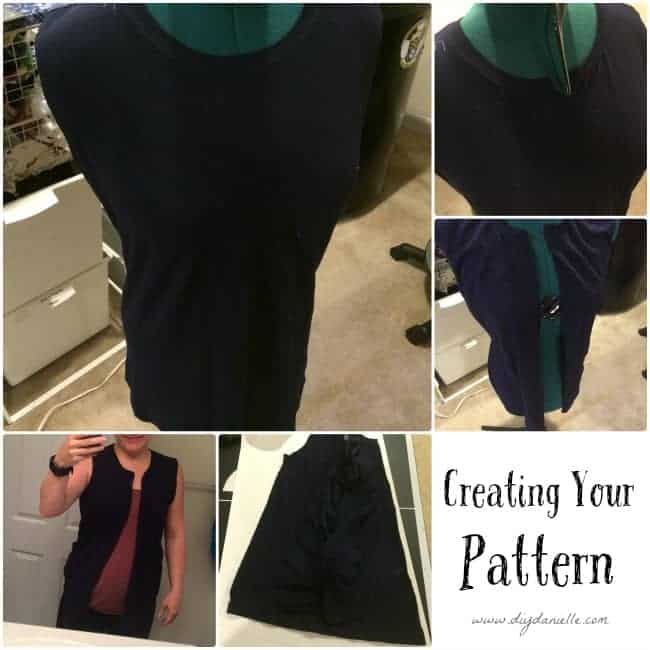How to make your own vest pattern.