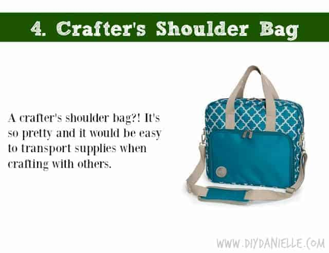 Holiday DIY Gift Guide: Crafter's Shoulder Bag