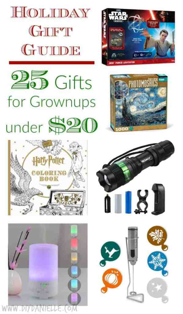 Holiday Gift Guide: Great gifts for adults under $20.
