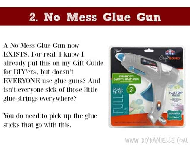 Holiday Gift Idea for Adults: No Mess Glue Gun