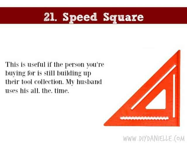 Holiday Gift Idea for Adults: Speed Square