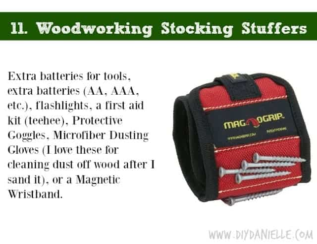 Holiday DIY Gift Guide: Woodworking Stocking Stuffers