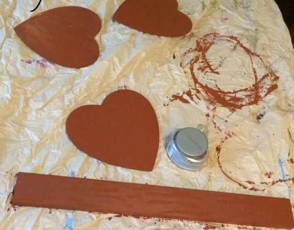 My Valentine's Day Decor Flop: Our Door Decoration