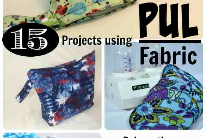 15+ Sewing Projects that Use PUL Fabric