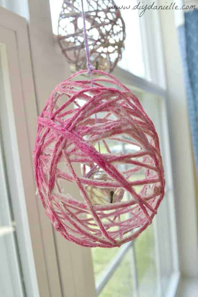 Tutorial for Easter Egg Wind Chimes