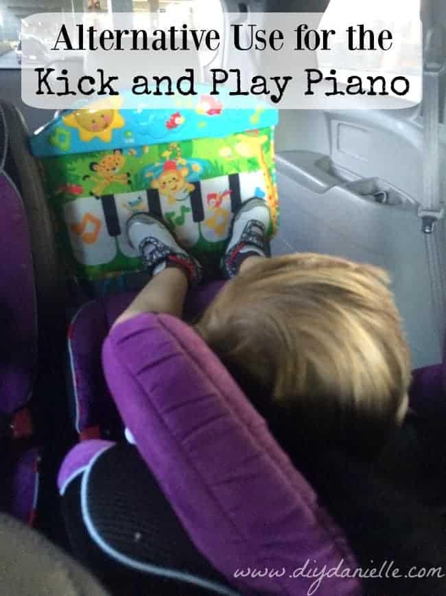 Kick & Play Piano Upcycle