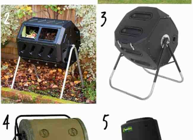 Composting with a Tumbling Compost Bin