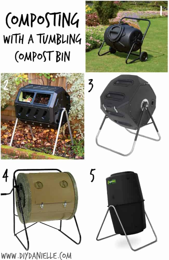 Composting with a Tumbling Compost Bin: Pro's, Con's and Setup