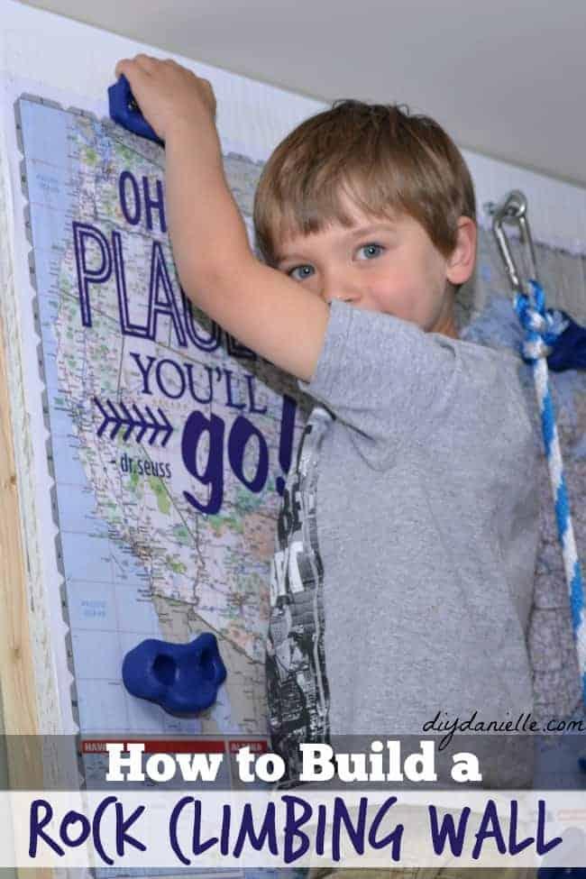 Tutorial: Building a DIY Rock Climbing Wall