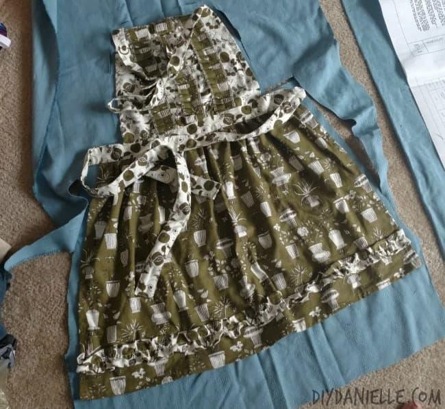 Old apron design.