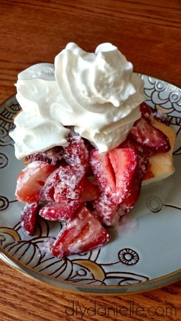 Easy Strawberry Shortcake for Grownups!
