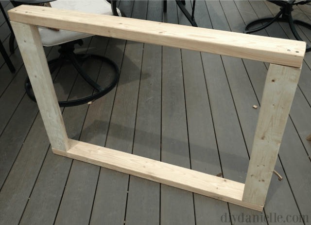 Dog Crate Top: Frame