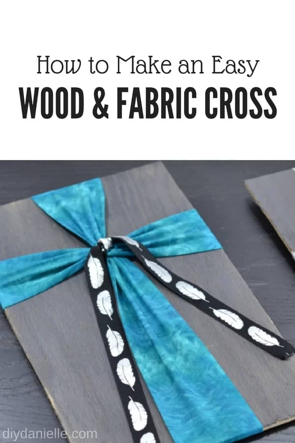Tutorial for Wooden Cross Wall Decor
