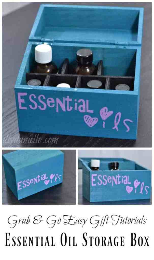 DIY Essential Oil Storage Container