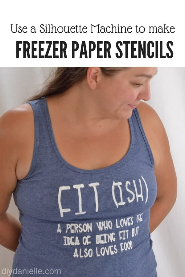 T-Shirt Stencils Using Freezer Paper and Silhouette Machine