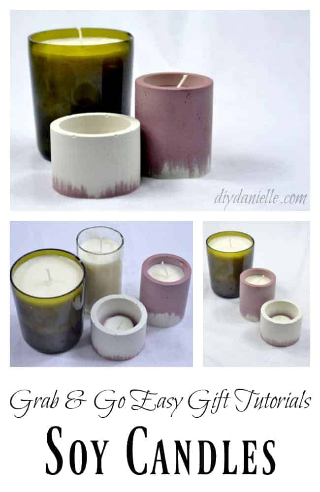 Easy Gift Idea: Soy Candles