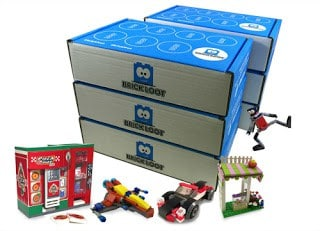 If your child loves Legos, get them a subscription box to Brick Loot.