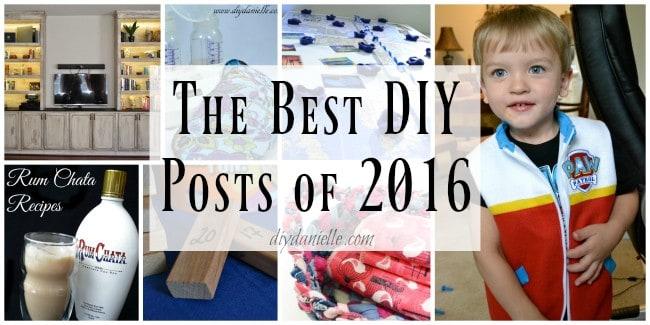 The Best DIY Posts of 2016