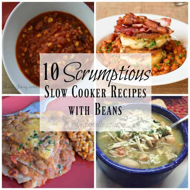 Bean recipes that can be cooked in a crockpot.