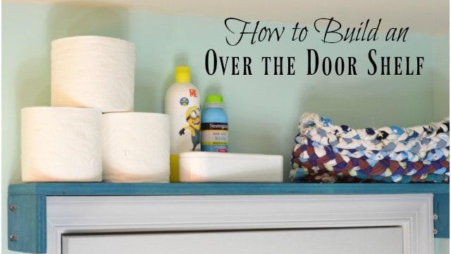 Add a DIY Door Shelf