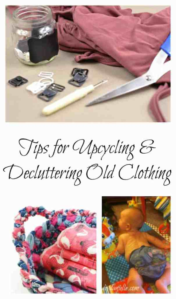Upcycling and Declutter Old, Worn Clothing: Tips and Tricks