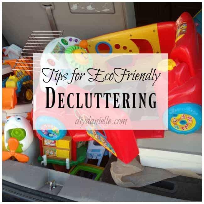 Ecofriendly Decluttering Tips